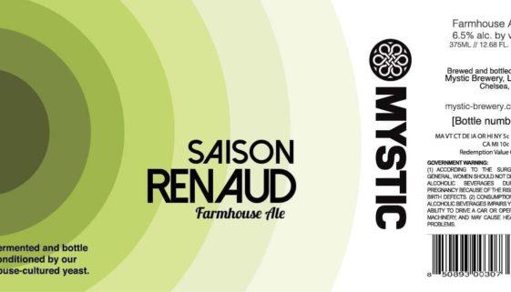 Mystic Brewery Saison Renaud