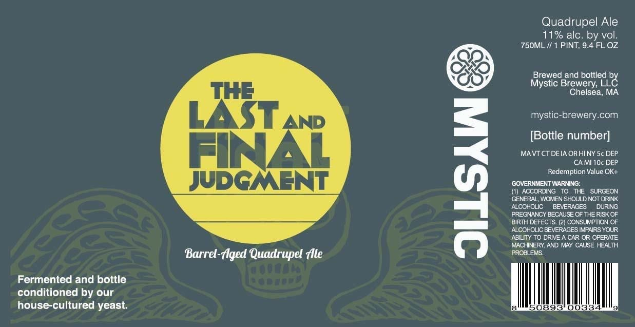 Mystic Brewery The Last and Final Judgement