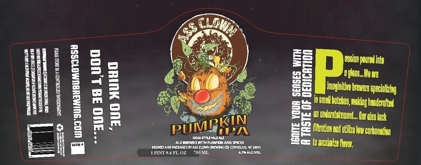 Ass Clown Brewing Company Pumpkin IPA