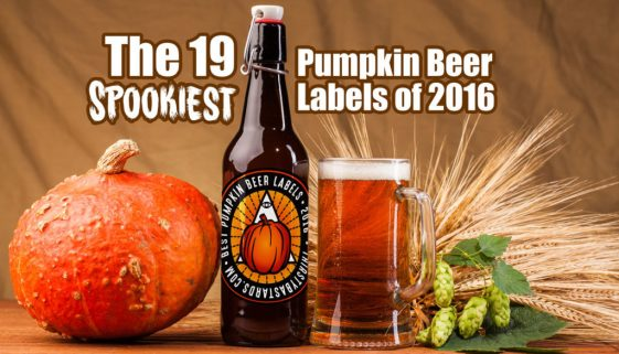 19 Spookiest Pumpkin Beer labels of 2016