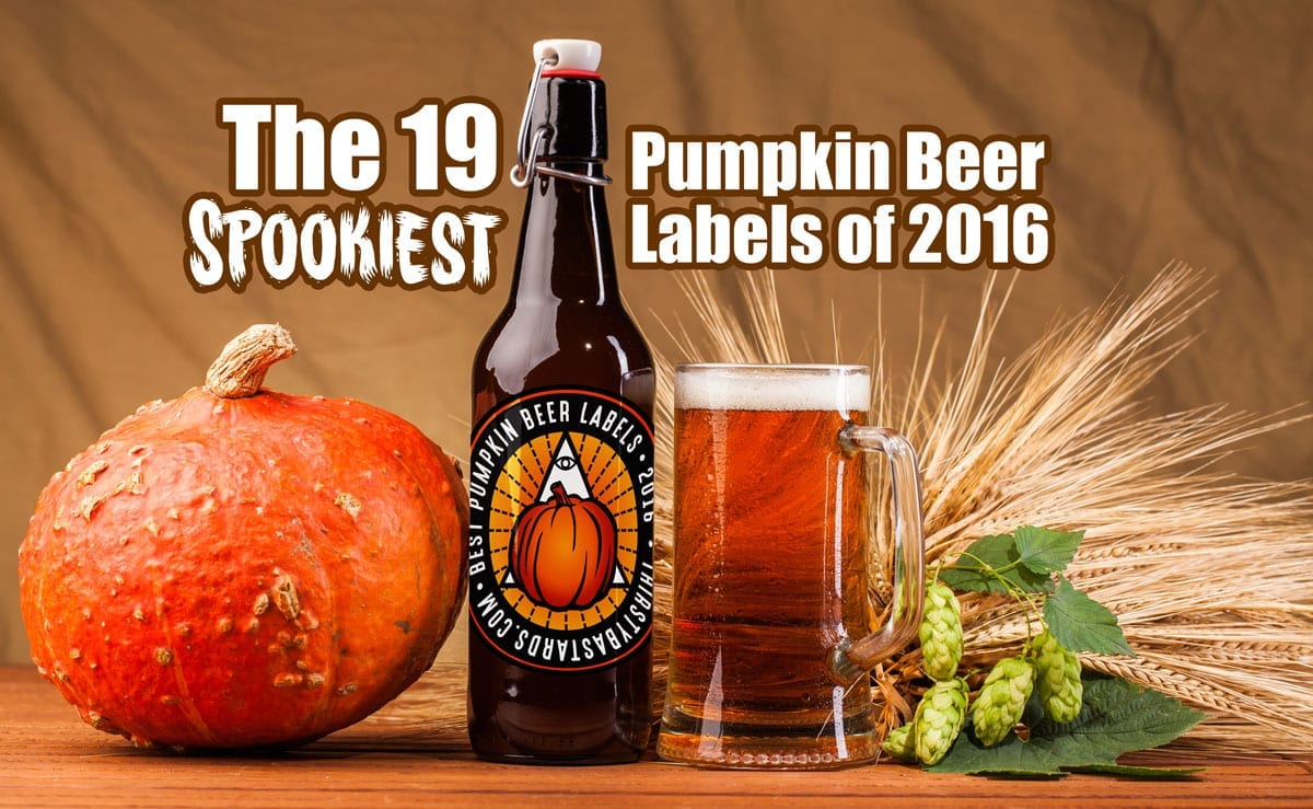 The 19 Spookiest Pumpkin Beer Labels of 2016 (and one stinker)