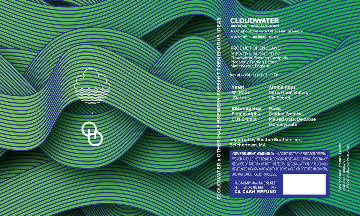 Cloudwater Brew Tremendous Ideas Label