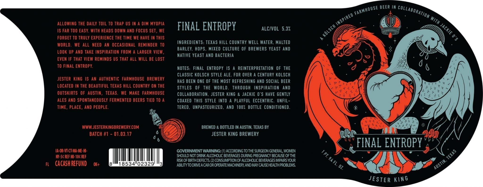 Jester King Final Entropy Label