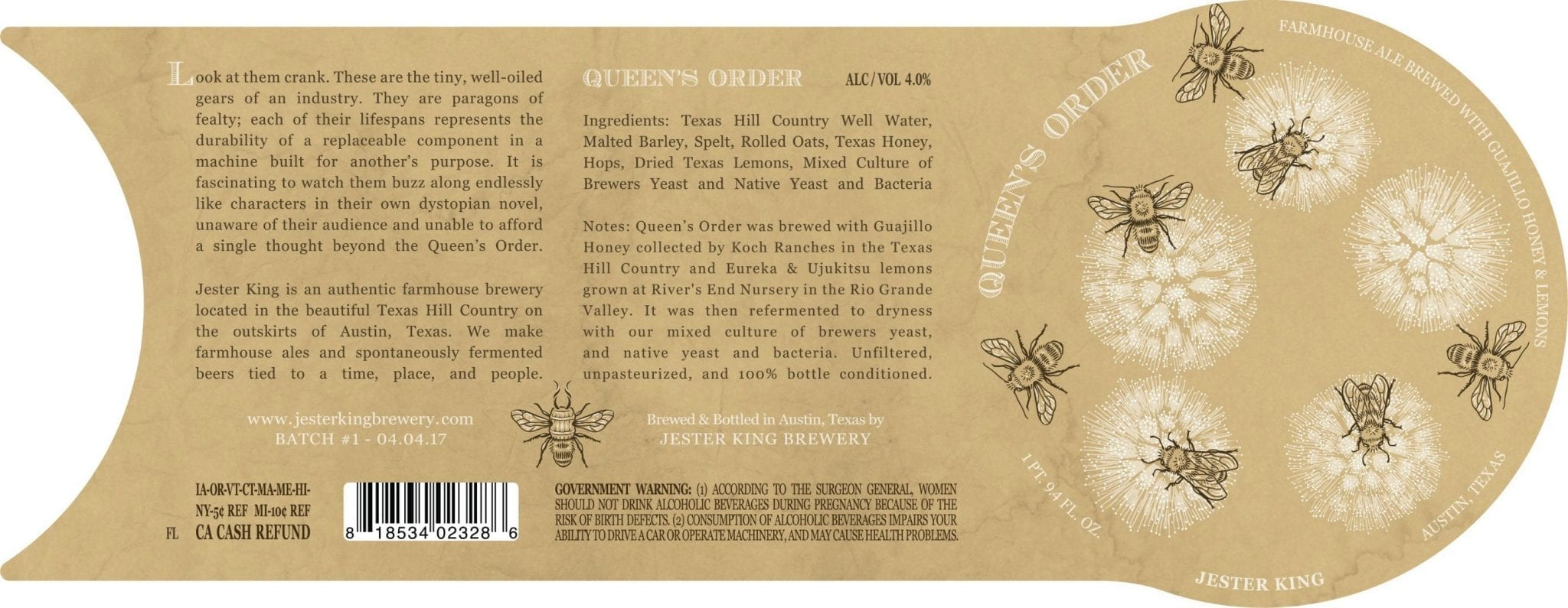 Josh Cockrell and the Beer Labels of Jester King   Thirsty Bastards