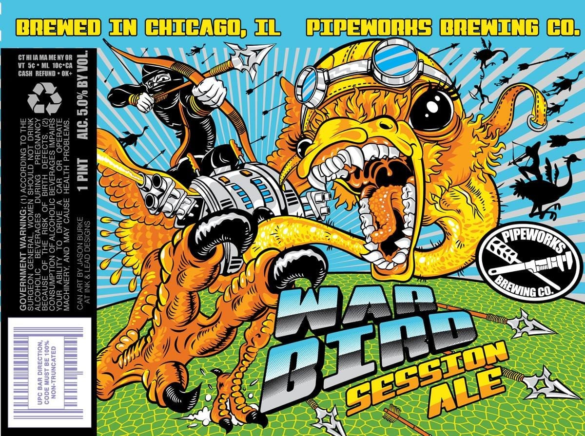 Pipeworks Brewing War Bird Session Ale