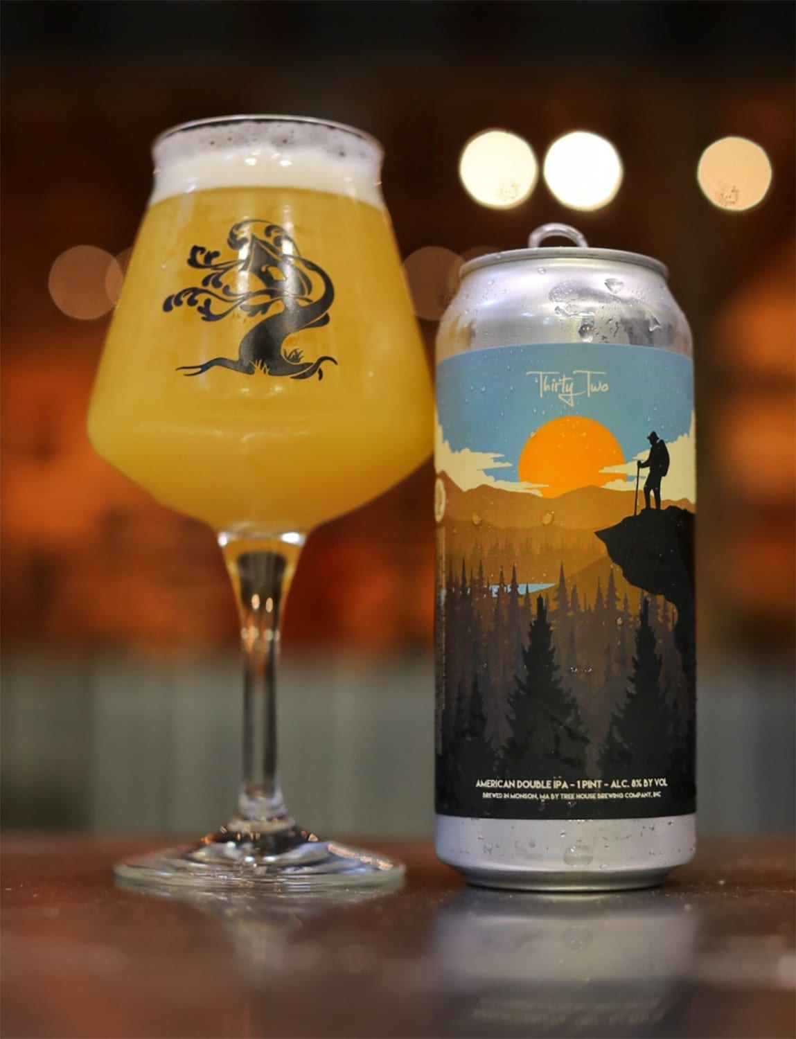 Tree House Brewing Thirty-Two Beer Label