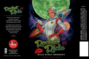 Bold Missy Brewery Rocket Ride American India Pale Ale