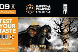 D9 Brewing Company Head Of The Horsemen Imperial Pumpkin Ale