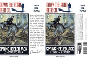 Down The Road Beer Co. Spring Heeled Jack London Porter