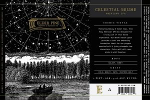 Elder Pine Brewing & Blending Co Celestial Brume IPA