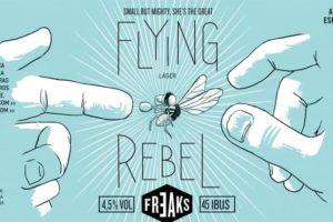 Freaks Brewing Flying Rebel Lager