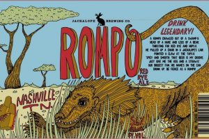 Jackalope Brewing Company Rompo Red Rye