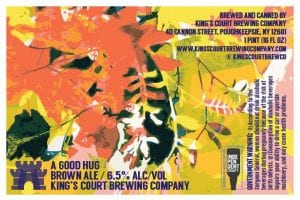 King's Court Brewing Company A Good Hug Brown