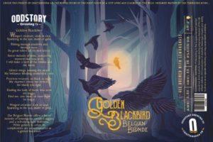 Oddstory Brewing Company Golden Blackbird Belgian Blonde