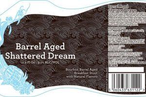 Siren Craft Brew Barrel Aged Shattered Dream BA Stout