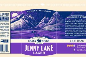 Snake River Brewing Jenny Lake Lager