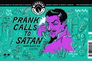 Wiseacre Prank Calls To Satan Hoppy Black Ale