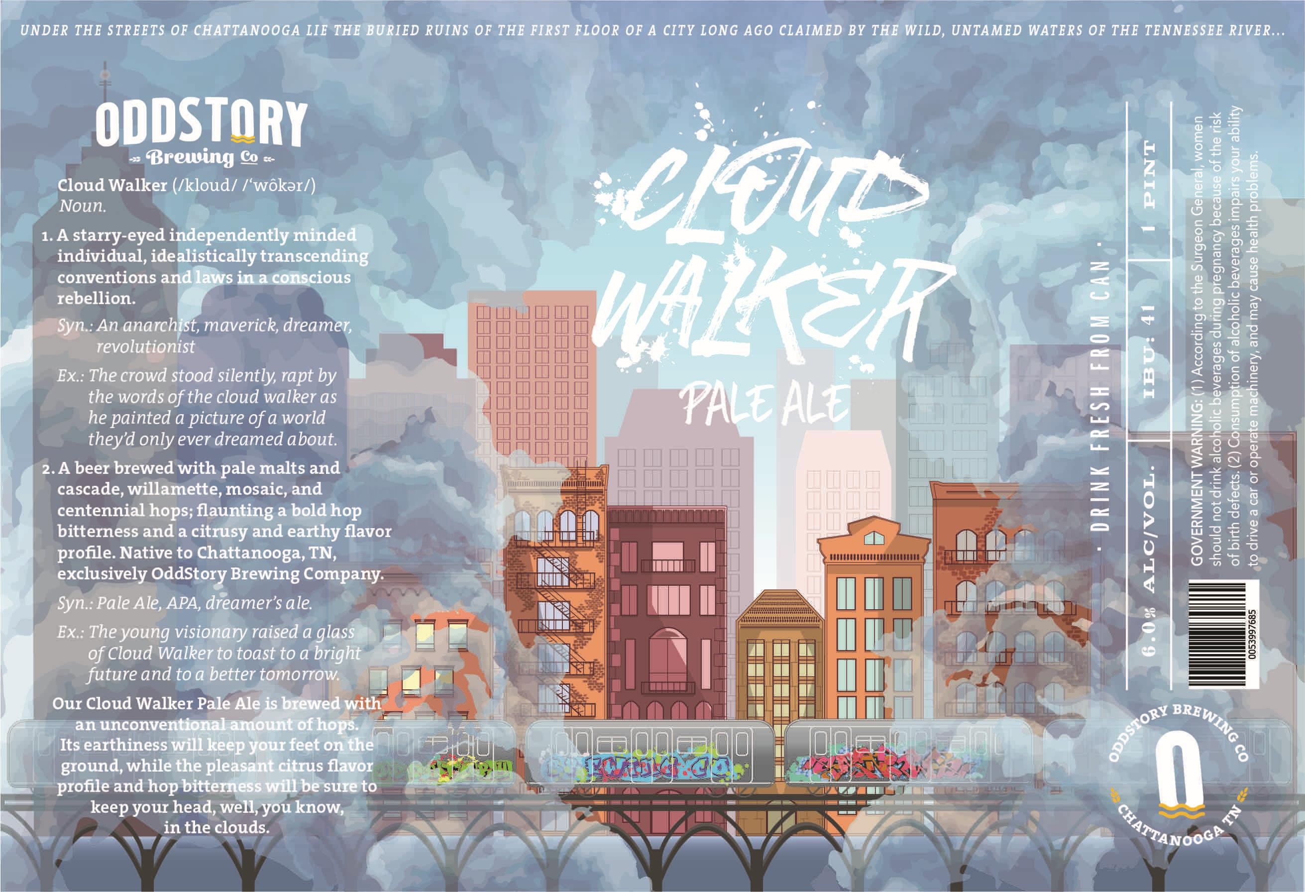 Oddstory Brewing Company Cloud Walker Pale Ale
