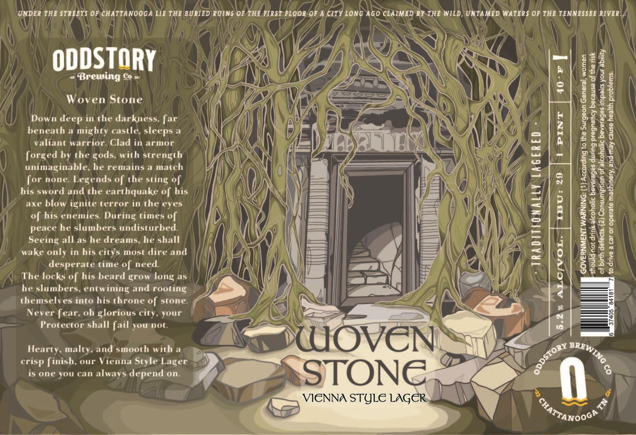 Oddstory Brewing Company Woven Stone Vienna Lager