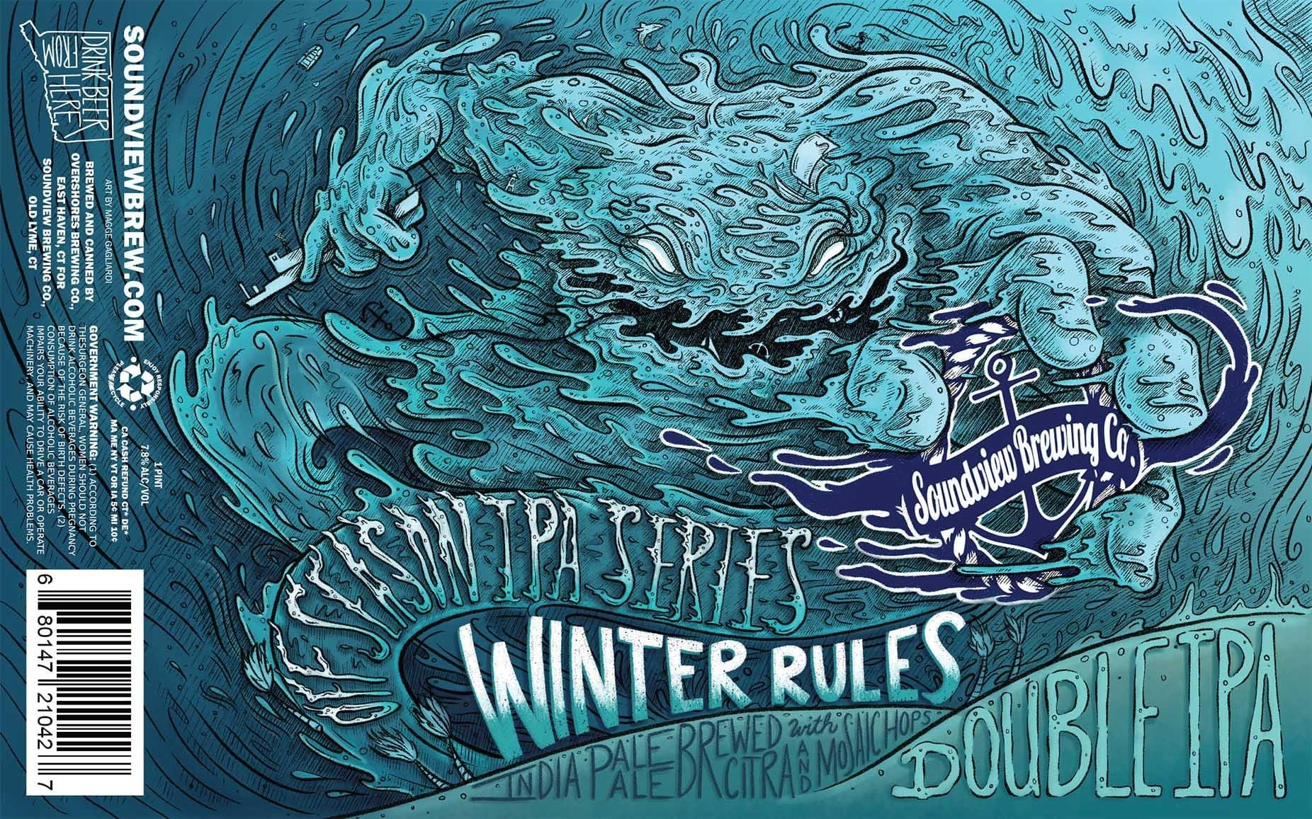 Soundview Winter Rules Double IPA