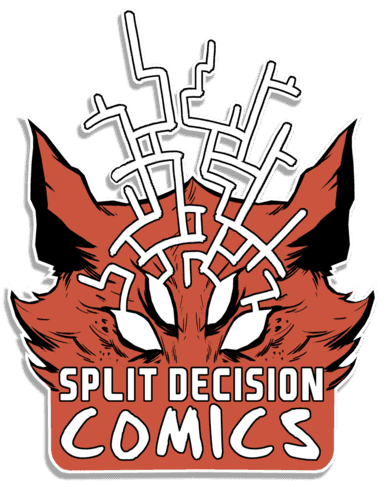 Split Decision Comics Logo