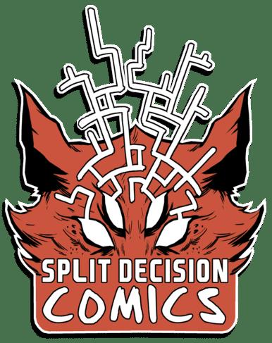 Split Decision Comics Logo