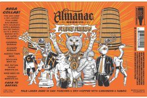 Almanac Foedre Friends Pale Lager