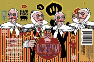 Black Hog Invasion White IPA