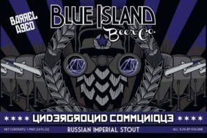 Blue Island Underground Communique Russian Imperial Stout