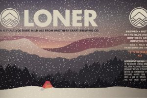 Brothers Craft Loner English Mild Ale