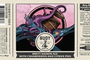 Buoy Beer Company Brett Saison Farmhouse Ale