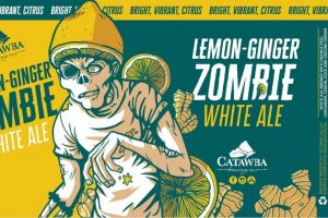 Catawba Lemon-Ginger Zombie Witbier