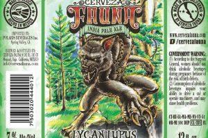 Cerveza Fauna Lycan Lupus IPA