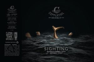 Coppertail Sighting BBA Imperial Stout