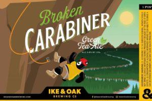 Ike & Oak Broken Carabiner Green Tea Ale