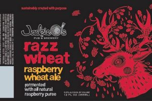 Jackie O's Razz Wheat Ale