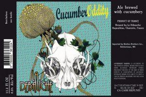 La Debauche Cucumber Oddity Belgian