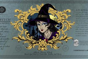 Lickinghole Creek Black Forest Witch Imperial Chocolate Stout