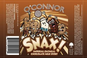 O'Connor Snax! Imperial Chocolate Milk Stout