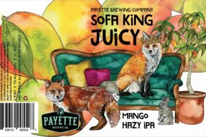 Palette Sofa King Juicy Mango Hazy IPA