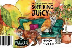 Palette Sofa King Juicy Mango Hazy IPA