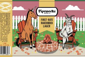 Pipeworks First-Rate Rauchbock Lager