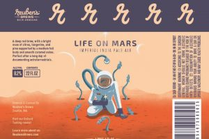 Reuben's Brews Life on Mars Imperial IPA
