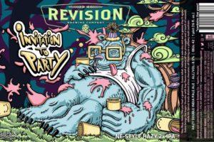 Revision Invitation To Party Hazy Double IPA