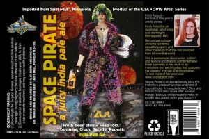 Saint Paul's Flat Earth Space Pirate IPA