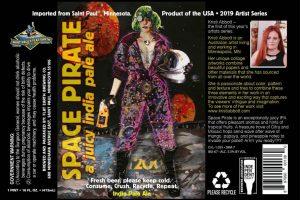 Saint Paul's Flat Earth Space Pirate IPA