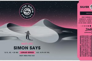 Silver Moon Simon Says Hazy IPA