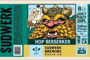 Sudwerk Hop Berserker Double Imperial Hazy India Pale Ale