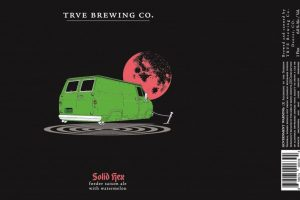 TRVE Solid Hex Foeder Saison With Watermelon