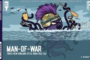 Tattered Flag Man-Of-War Triple IPA